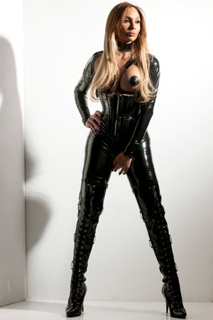 Transsexual BDSM Mistress Blanche