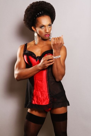Tranny Escort Black 107
