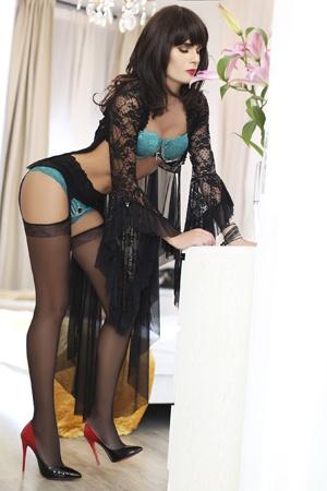Italian Transvestite Escort in London Bruna